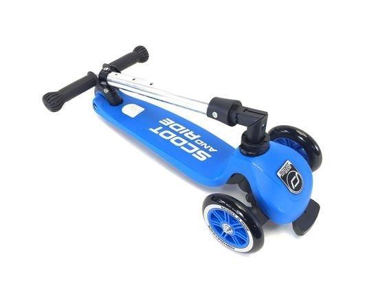 detskiy trehkolesniy skladnoy samokat ScoottRide Highwaykick 3 blue4