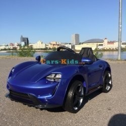 Электромобиль Porsche Sport М777МР синий