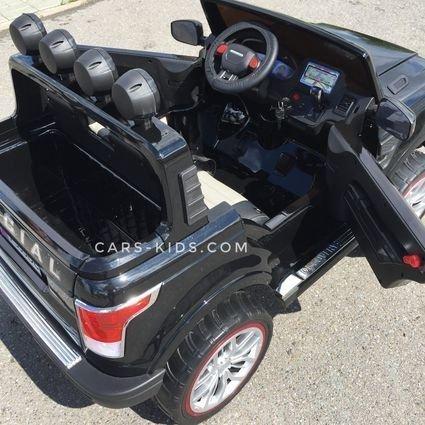 Электромобиль Range Rover XMX601 4WD 2-х местный, белый (2 усиленных АКБ, колеса резина, сиденье кожа, пульт, музыка)