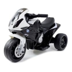 Электромотоцикл BMW S1000RR Black (трицикл, 6V) - JT5188 (кожаное кресло, музыка, свет фар)